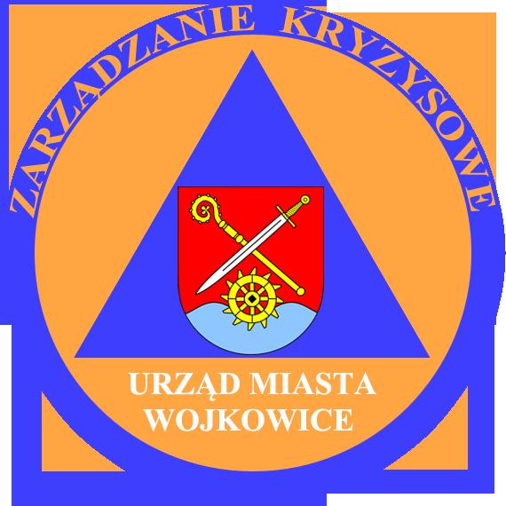 logo zarządzanie kryzysowe miasta wojkowice