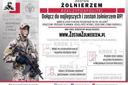 Zostań żołnierzem Rzeczypospolitej - nowy porta